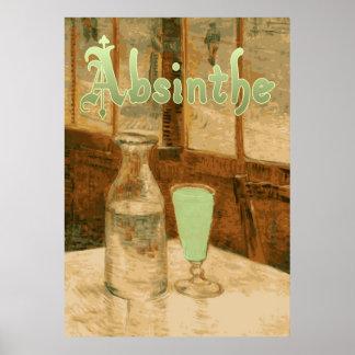 Absinthe Art Nouveau Advertisement Poster