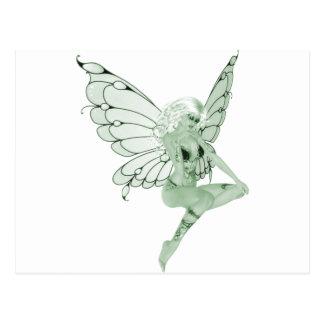 Absinthe Art Signature Green Fairy 1B Postcard