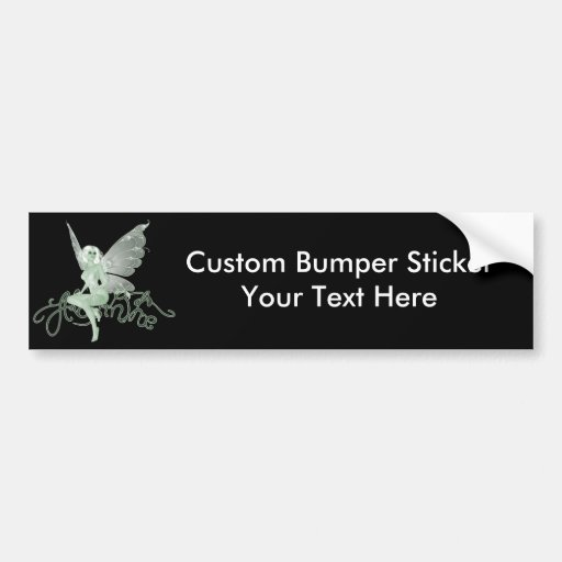 Absinthe Art Signature Green Fairy - Absinthe Bumper Sticker