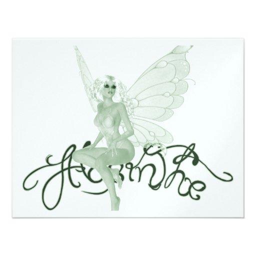 Absinthe Art Signature Green Fairy - Absinthe Custom Announcements