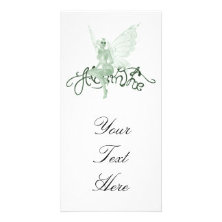 Absinthe Art Signature Green Fairy - Absinthe Personalised Photo Card