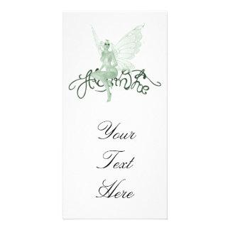 Absinthe Art Signature Green Fairy - Absinthe Photo Card Template
