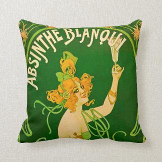 Absinthe Blanqui by Nover - 1901 Cushion