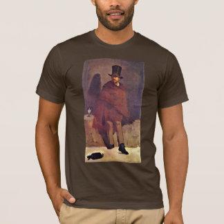 Absinthe Drinker By Manet Edouard T-Shirt