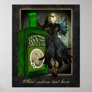 Absinthe Faerie Custom Poster