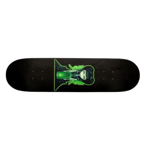Absinthe fairy gothic absinth art Skateboard
