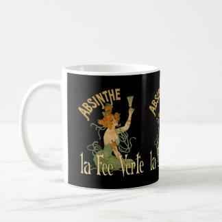 Absinthe Green Fairy La Fee Verte,Poster Steampunk Coffee Mug