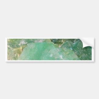 Absinthe Green Quartz Crystal Bumper Sticker