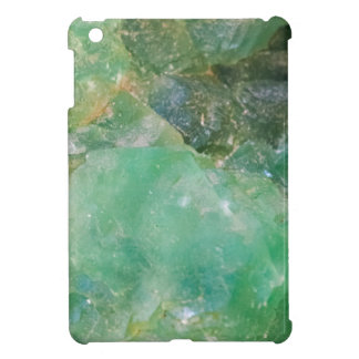 Absinthe Green Quartz Crystal iPad Mini Cover
