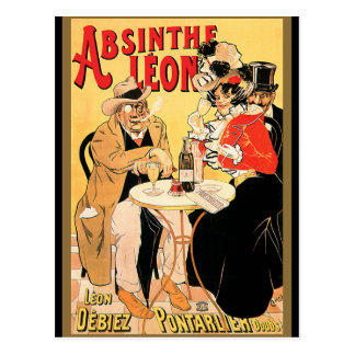 Absinthe Leon Postcard