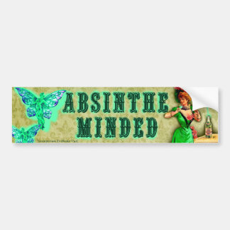 Absinthe Minded Sticker Bumper Sticker