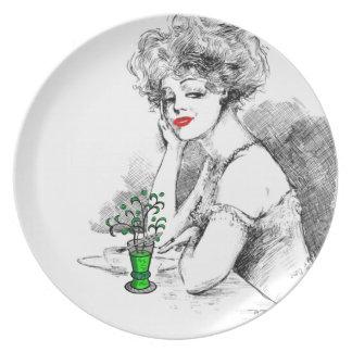 Absinthe Plate