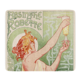 Absinthe Robette - Alcohol Vintage Poster Cutting Board