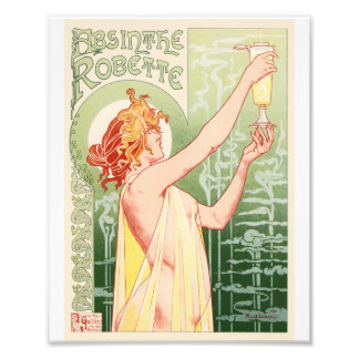 Absinthe Robette - Alcohol Vintage Poster Photo Art