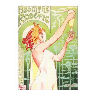 Absinthe Robette Canvas Print