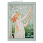 Absinthe Robette (Mint) Stationery Note Card