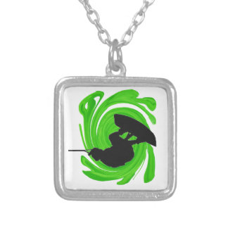 Absolute Air Silver Plated Necklace