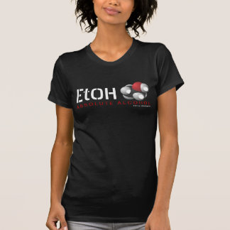Absolute Alcohol Ethanol Molecular Formula C2H6O Tee Shirt