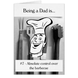 Absolute Control Over the Barbecue Card