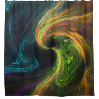 absract 71 shower curtain
