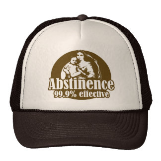 Abstinence 99% Effective Religious Humor Hat