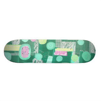 Abstract 050112b skateboard deck
