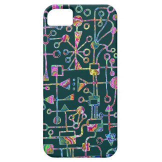 Abstract 090112 v5 barely there iPhone 5 case