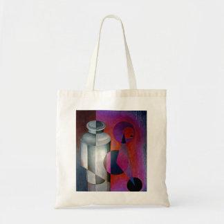 abstract 10 budget tote bag