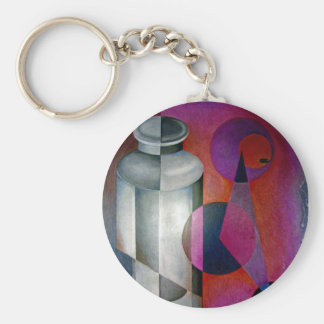 abstract 10 key ring