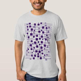 Abstract 111211 - Deep Purple Tshirt