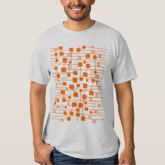 Abstract 111211 - Orange Tee Shirts