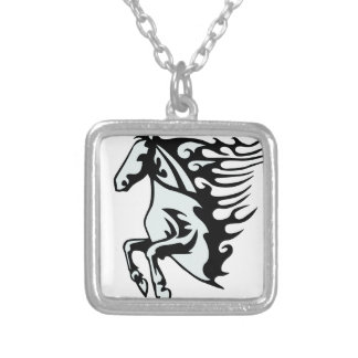 abstract-1297888 silver plated necklace
