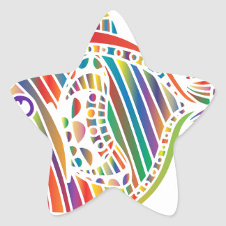abstract-1299653 star sticker