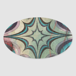 abstract 12.jpg oval sticker