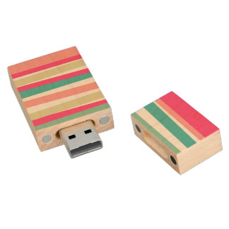 Abstract 170116 wood USB 2.0 flash drive