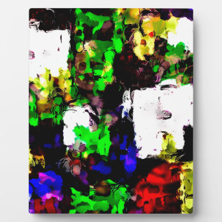 Abstract 1818 plaque