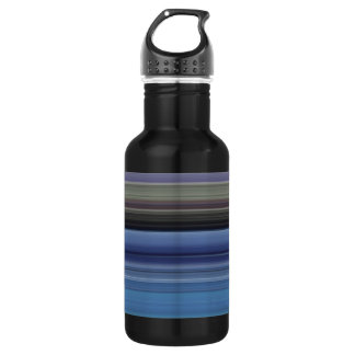 Abstract #1: Blue and grey 532 Ml Water Bottle