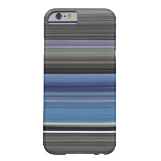 Abstract #1: Blue and grey Barely There iPhone 6 Case