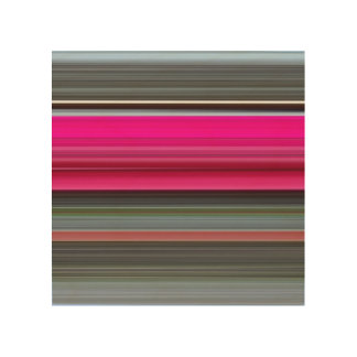 Abstract #1: Cerise and grey Wood Wall Art