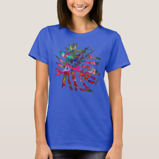 Abstract 1 from Think Art Now T-Shirt