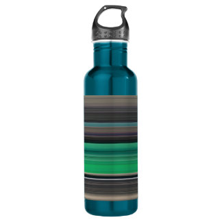 Abstract #1: Green and grey 710 Ml Water Bottle