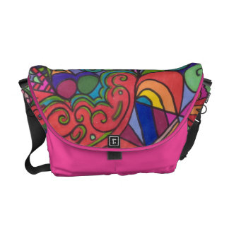 Abstract #1 messenger bags