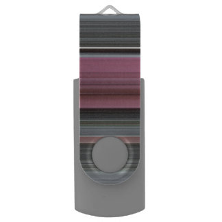 Abstract #1: Pink and grey USB Flash Drive