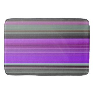Abstract #1: Purple and grey Bath Mat