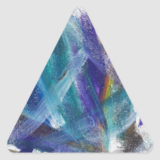 Abstract 1 triangle sticker