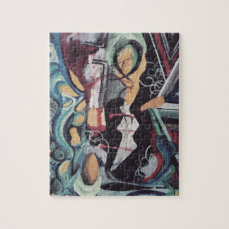 Abstract 2016 jigsaw puzzle