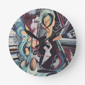 Abstract 2016 round clock