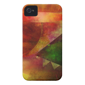 abstract 2017001 iPhone 4 case