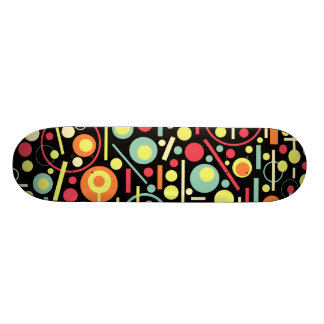 Abstract 210213 21.6 cm skateboard deck