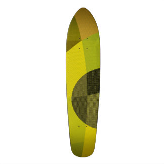 abstract 21.3 cm mini skateboard deck